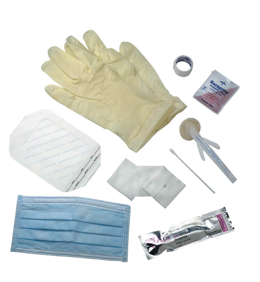 clinical supplies or medical supply kits to fit the